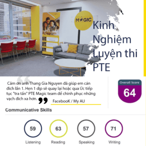luyện thi pte